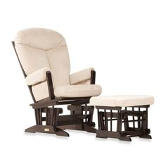 product image for Dutailier® Ultramotion Bella Classic Glider and Ottoman in Buckwheat