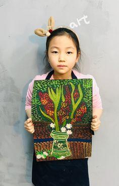 빈 센트 반 고흐[킨더 (초등) 수업 / 시흥시 정왕동 배곧 미술학원 - 창의미술 크리아트 ] : 네이버 블로그 Drawing Classes For Kids, Kids Art Class, Art For Kids, Primary School Art, Art School, Chalk Pastels, Working With Children, Art Lesson Plans, Art Plastique