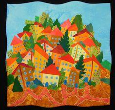 Hill Village quilt from artfabrik. Love!