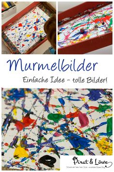Einfache Idee - tolle Bilder! Malen mit Kindern. Eine genau Anleitung findest du auf meinem Blog. Snowflakes Art, Directed Drawing, Montessori Baby, Art Activities, Diy For Kids, About Me Blog, Arts And Crafts, Valentines, Concept