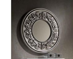 Hades Circular Mirror With an Intricate Design Frame, Available in 3 Semi Gloss Finish Options - See more at: https://www.trendy-products.co.uk/product.php/8686/hades_circular_mirror_with_an_intricate_design_frame__available_in_3_semi_gloss_finish_options#sthash.Rcgce1UH.dpuf #interiorwarrior #homestyling #styling #hemnet #homeinspo #inspiration #easter #dekor #interiordesign