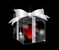 Heart in a box gif.