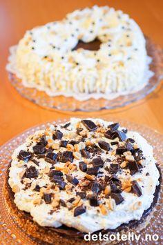 """""""Snickerskake"""" er en KJEMPEPOPULÆR og VANVITTIG GOD kake!!! Constitution Day, Public Holidays, Doughnut, Baking, Norway, Desserts, God, Tailgate Desserts, Dios"""