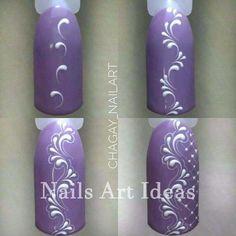 New nails short gel art tutorials 35 ideas Lace Nails, Flower Nails, Orange Nail Designs, Nail Art Designs, Nail Art Hacks, Easy Nail Art, Nail Art Arabesque, Diy Nails, Manicure