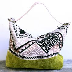 Mina Bag Olive Black design inspiration on Fab.