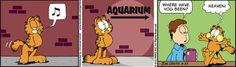 No Céu/Paraíso : Garfield Cartoon for May/22/2012