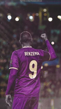 Karim Benzema vs Sporting - Wallpaper HD