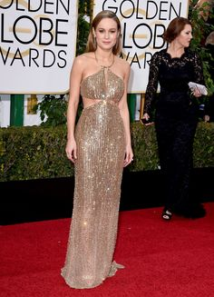 Golden Globes 2016: 5 Stars Dressed to Win - Brie Larson-Wmag
