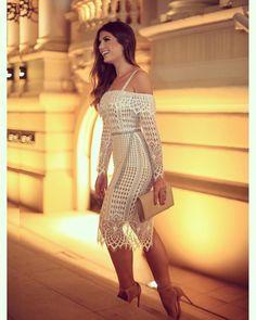 "17 mil curtidas, 145 comentários - Blog Trend Alert (@arianecanovas) no Instagram: ""💎💎💎 @cloudeoficial #veraocloude"" Fashion Casual, Cute Fashion, Casual Chic, Girl Fashion, Grad Dresses, Sexy Dresses, Beautiful Dresses, African Fashion Dresses, Feminine Style"