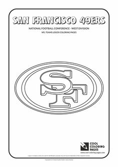 Cool Coloring Pages - NFL American Football Clubs Logos - National Football…