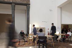Studio in Triennale 2015 Kushi table lamp_Evita floor lamp