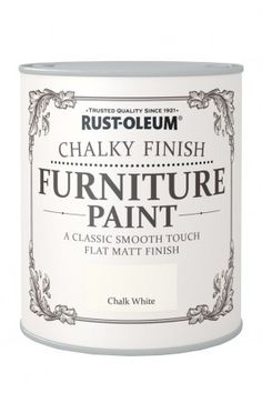 Chalky Furniture Paint_chalk white...finally affordable chalk paint!  I can't wait to get my hands on the Duck Egg color!  They'll be selling it at Kitz & Pfeil in Oshkosh, WI soon!