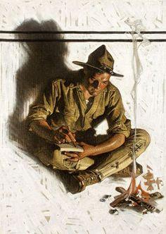 J.C. LEYENDECKER Unknown Oil on Canvas