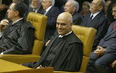 Ao menos dez políticos citados pelos delatores da Odebrecht na Operação Lava Jato participaram da cerimônia de posse do ministro Alexandre de Moraes no STF (Supremo Tribunal Federal) nesta quarta-feira (22).