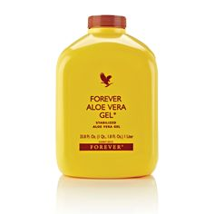 Forever Aloe Vera Gel®  Imagine slicing open an Aloe leaf and consuming the gel directly from the plant. Our Forever Aloe Vera Gel® is as close to the real thing as you can get.  The miraculous aloe leaf has been found to contain more than 200 compounds. A product of our patented aloe stabilization process, our gel is favored by those looking to maintain a healthy digestive system and a natural energy level.