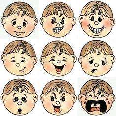 Our Feelings Educational Toy Molds - Preschool Children Akctivitiys School Staff, Pre School, Therapy Activities, Preschool Activities, Emotions Preschool, Hebrew School, Feelings And Emotions, Busy Book, Lessons For Kids