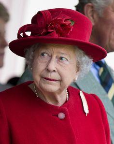Queen Elizabeth II attends the Braemar Gathering on September 5, 2015 in Braemar, Scotland