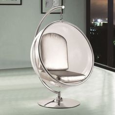 Gentil Dimensions In Inches: 72h X 47w X 26d Finish: Stainless Steel Bubble Stand  Only The Indoor Bubble Chair Stand Is An Easy Way To Setup Your Bubble Cu2026  ...