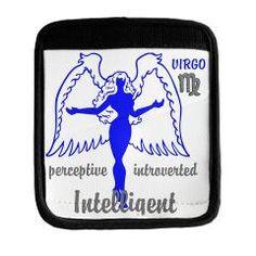 VIRGO Luggage Handle Wrap> VIRGO HOME DECOR> Wanda's T-Shirts and Stuff $9.50