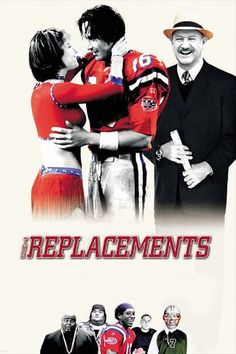The Replacements (2000) | http://www.getgrandmovies.top/movies/19855-the-replacements | Maverick old-guard coach Jimmy McGinty is hired in the wake of a players' strike to help the Washington Sentinels advance to the playoffs. But that impossible dream hinges on whether his replacements can hunker down and do the job. So, McGinty dusts off his secret dossier of ex-players who never got a chance (or screwed up the one they were given) and knits together a bad-dream team of guys who just may…
