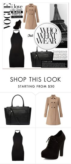 """""""Paris in fall"""" by abbybo on Polyvore featuring Witchery, Miss Selfridge, Balmain, New Look, Essie and Who What Wear"""