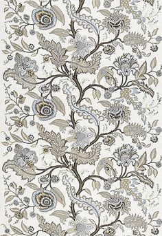 Sinhala Linen print designed by Martyn Lawrence Bullard for Schumacher available from Orient House