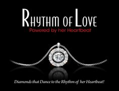 Rhythm of Love diamond jewelry. These diamonds sit on a hinge so that they are always in motion; reflecting light in every direction. It is the most sparkly way to display a diamond. https://www.atlantadiamond.com/?p=2847