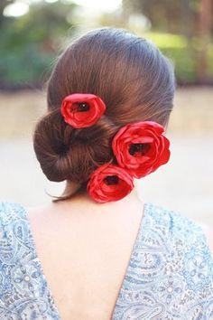 brides of adelaide magazine - red wedding - poppy hair