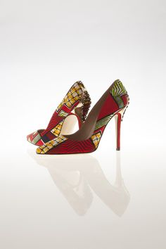 African print- shoes- Ankara shoes-on ciaafrique