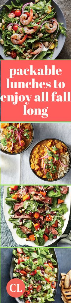 You don't have to wait until Halloween or Thanksgiving to cash in on autumnal flavors. Start with these five meals you can package up for easy travel to work. Breakfast Lunch Dinner, Paleo Breakfast, Lunch Recipes, Healthy Recipes, Fall Recipes, Healthy Foods, Yummy Recipes, Cooking Light Recipes, Autumnal