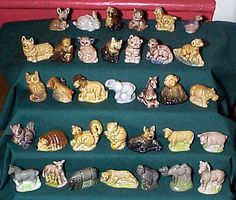 Whimsies - everyone had at least one. I had the dog on he far left second row from the top lol