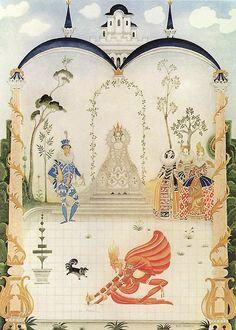 Rumplestiltskin ~   Fairy Tales of the Brothers Grimm~  Kay Nielsen