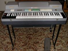 Farfisa Combo Compact.  The organ to have in the 1960s.   I remember how cool I felt when I got mine at around age 12.
