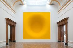 Anish Kapoor / Royal Academy of Arts / Yellow / Sculpture / 2009