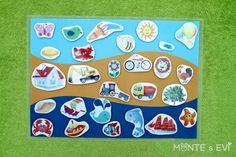 Priraďovanie - voda, zem vzduch monte s evi Montessori Baby, Cute House, Busy Bags, Fun Learning, Preschool Activities, Kids, Sorting, School Ideas, Houses