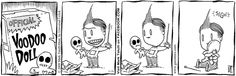 Lio gets a Voodoo doll