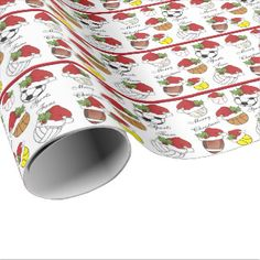Sport Fans Christmas Wrapping Paper
