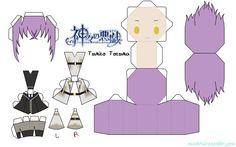 Paper   anime   craft   kamigami no asobi   papercraft
