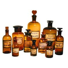 Vintage Apothecary Jars from Buenos Aires just in case you have a spare 500 or so bucks.