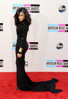Naya Rivera in Michael Kors at the American Music Awards