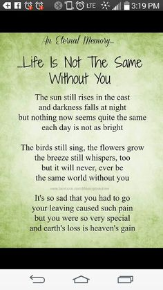 The world is not the same without you little one Love and miss you everyday Jack sleep tight baby boy xxxxx I Miss You Quotes, Son Quotes, Life Quotes, Real Quotes, Missing My Husband, I Thought Of You Today, Mom In Heaven, Miss Mom, Grief Poems