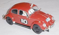 Scalextric C3484 VW Beetle RAC Rally 1960