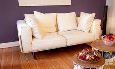 Roche Bobois #Sofa, Stoff/Leder