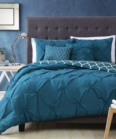 Look what I found on #zulily! Teal Madrid Comforter Set #zulilyfinds