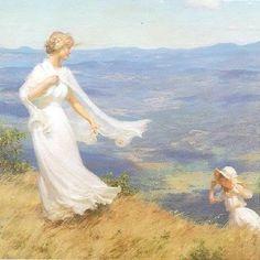 Charles Courtney Curran 1861-1942   pintor impresionista estadounidense
