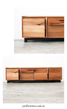 YARD Furniture Melbourne - Custom Console Units Custom Entertainment Units Custom Timber Furniture Hand Made in Melbourne