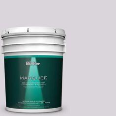 BEHR MARQUEE 5 gal. #MQ3-29 So Shy One-Coat Hide Semi-Gloss Enamel Interior Paint