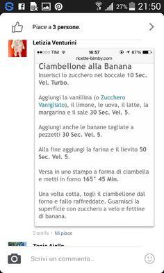 Ciambella alla banana 2 parte