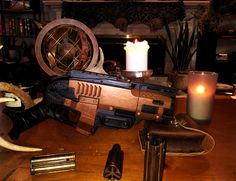 """Probatorem mortuis"" my first nerf mod uploaded to Pinterest hope you like it!"
