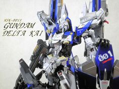 GUNDAM GUY: MG 1/100 Gundam Delta Kai Ver. Kobaruto - Customized Build